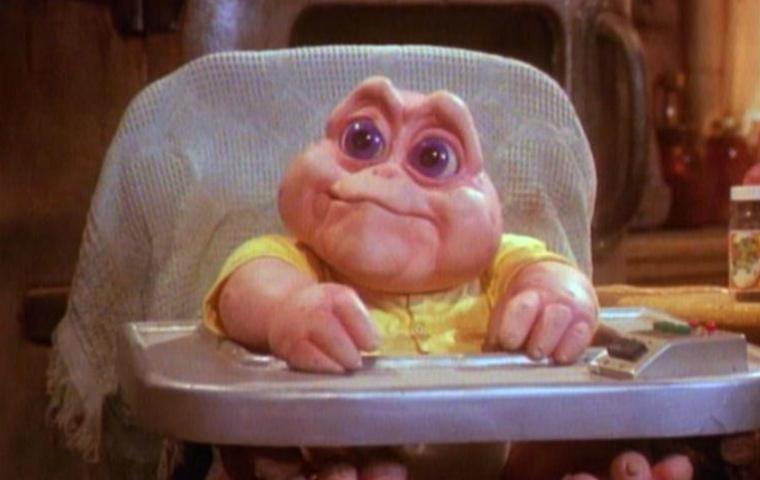 das baby von den dinos