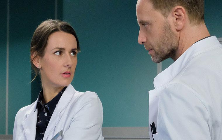In aller Freundschaft: Dr. Kai Hoffmann und Maria Weber