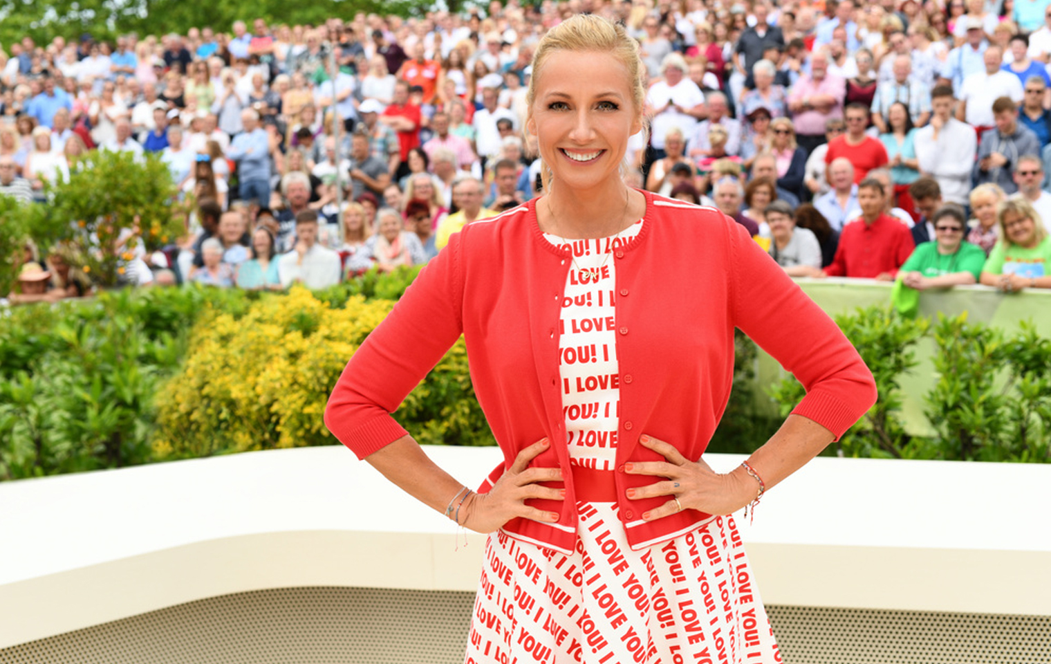 Skandal Im Zdf Fernsehgarten Aufstand Gegen Andrea Kiewel Promis