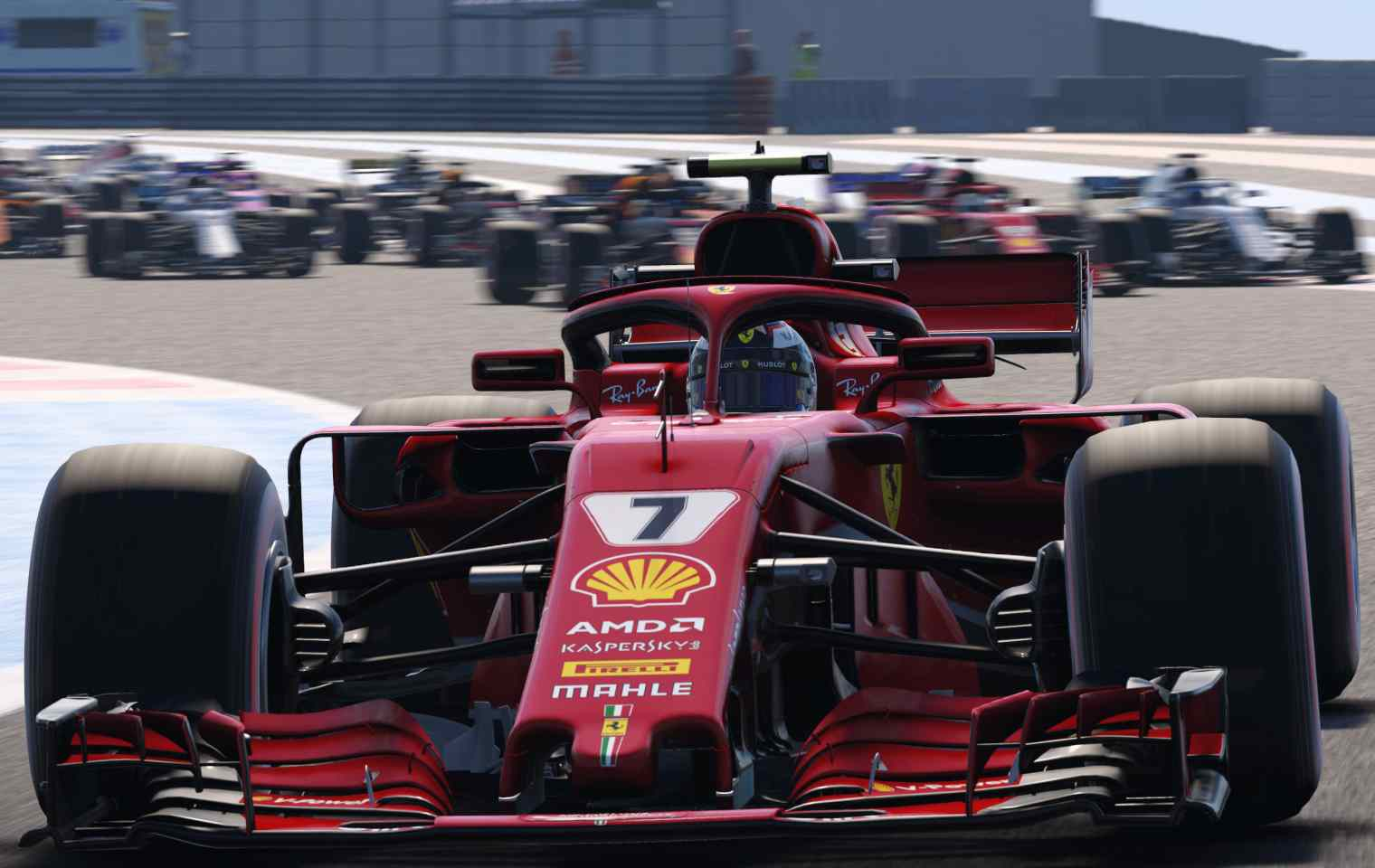 f1 2018 im test mit vollgas auf die pole position ps4 xbox one. Black Bedroom Furniture Sets. Home Design Ideas