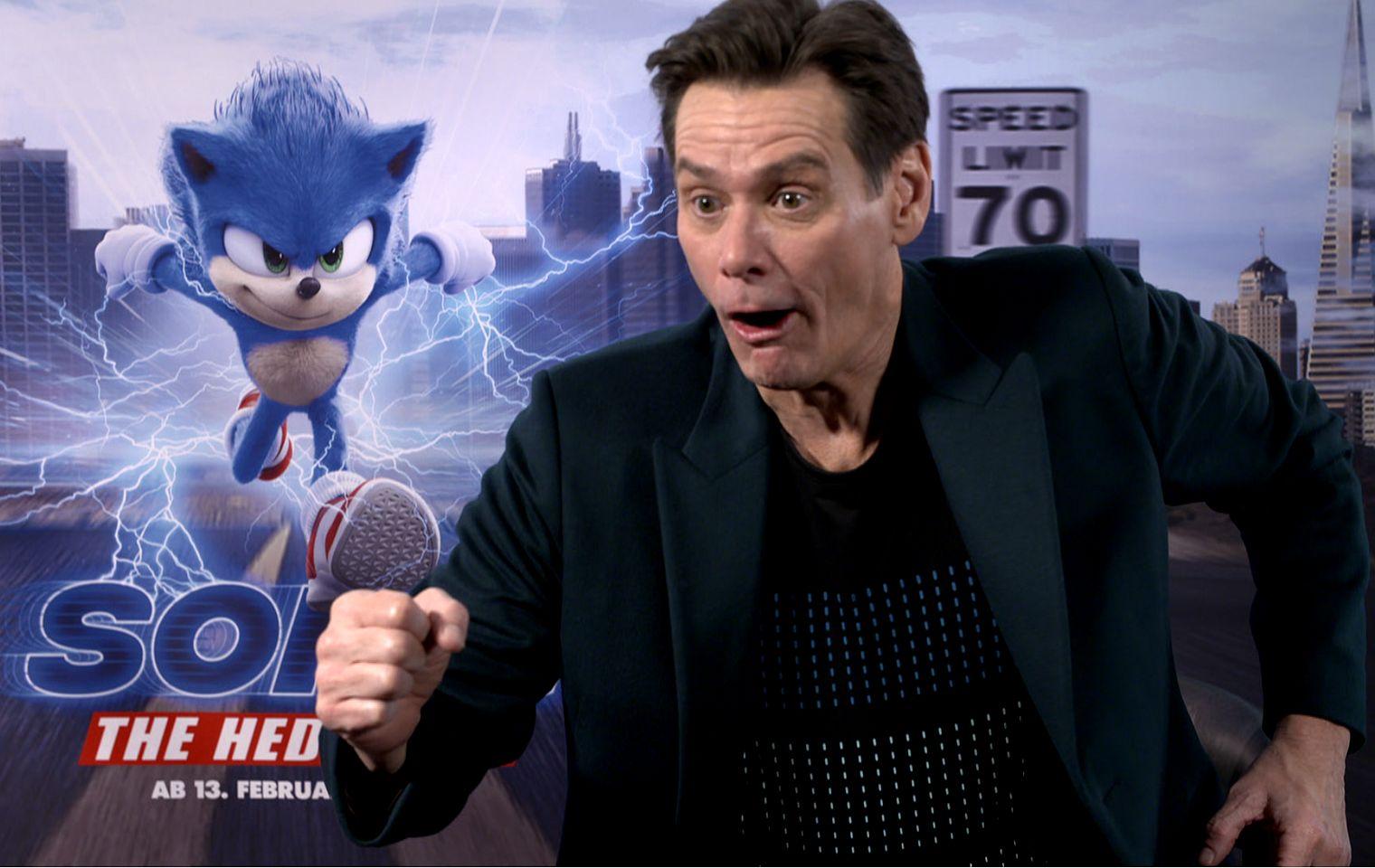 "Jim Carrey: So verrückt benahm er sich im ""Sonic the Hedgehog""-Interview"