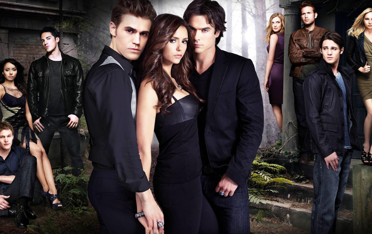 Vampire Diaries Elena And Damon