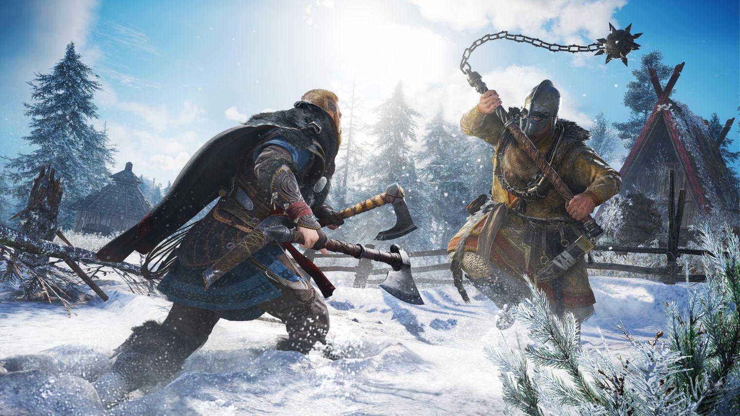 Escenarios impactantes al jugar Assassins Creed Valhalla jugar