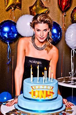 Happy birthday mudding