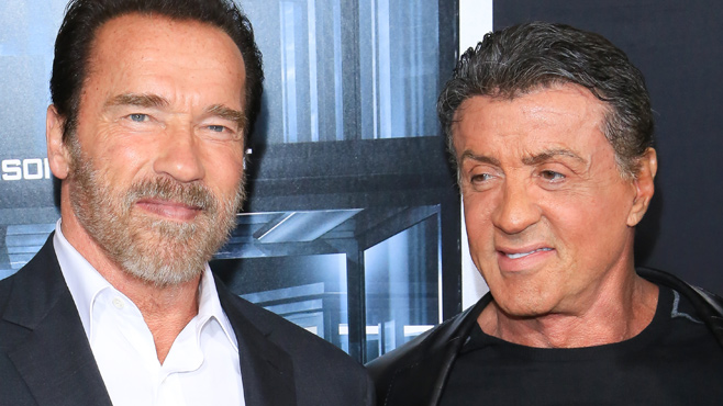 Sylvester Stallone Und Arnold Schwarzenegger