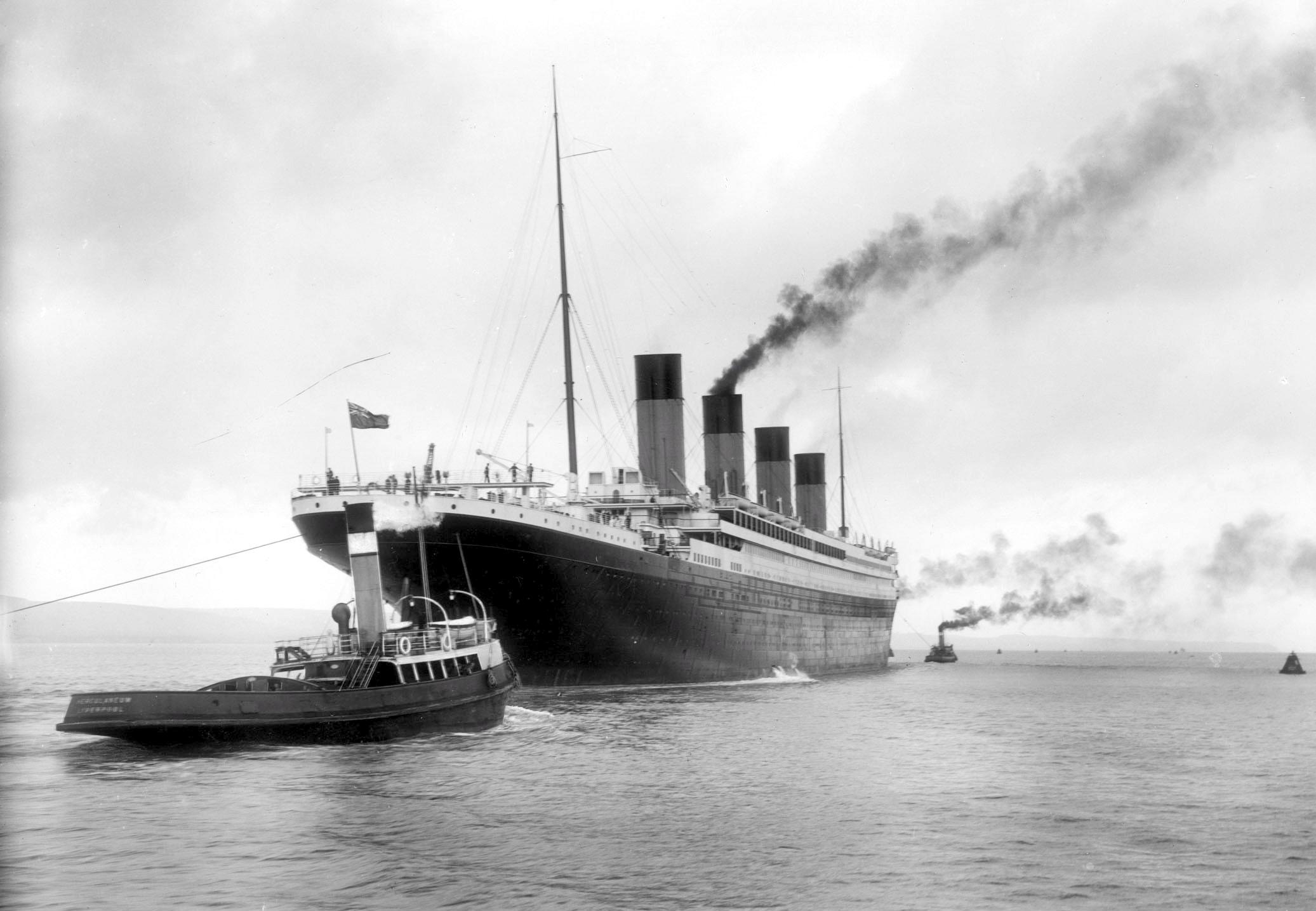 Titanic Original Bilder