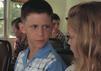 Michael Conner Humphreys als junger Forrest Gump mit seiner Filmfreundin Jenny.