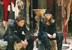 """Sarah Kim Gries stand neben Jimi Blue Ochsenknecht für die Familienfilm-Reihe """"Die Wilden Kerle"""" vor der Kamera."""