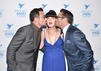 Pauley Perrette (NCIS) mit Lawrence Zarian und Gregory Zarian
