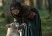 """""""Outlander"""" - Staffel 4: Claire Fraser (Caitriona Balfe) und Rollo"""