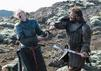 """Game of Thrones"" GOT: Brienne von Tarth (Gwendoline Christie) The Hound, Bluthund, Sandor Clegane Rory McCann"