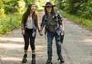 The Walking Dead Carl Enid