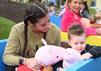 Sarah Lombardi sucht einen Fan, der auf ihren Sohn Alessio Lombardi aufpasst