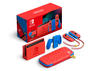 Nintendo Switch Mario Edition Rot Blau