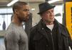 Creed mit Michael B. Jordan und Sylvester Stallone