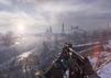 Weitblick über die sibirische Spielwelt von Metro Exodus: Enhanced Edition