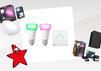 Philips Hue Produkte: Glühbirnen, Tischleuchte, Außenleuchte, Hue Bridge