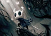 Der Käfer-Held aus dem Indie-Game Hollow Knight