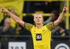 Dortmund-Torjäger Erling Haaland spielt Samstag gegen Gladbach.