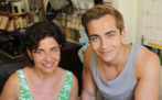Claudia Weise mit Sohn Jonathan-Elias Weiske