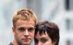 Jonny Lee Miller mit Angelina Jolie