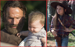 """The Walking Dead"": Rick Grimes (Andew Lincoln) und Judith (Cailey Fleming)"