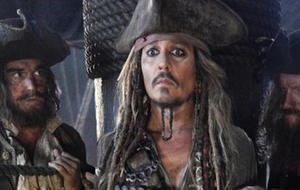 """Johnny Depp in """"Fluch der Karibik 5"""""""