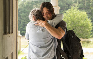 "Melissa McBride als Carol, Norman Reedus als Daryl - ""The Walking Dead"", Staffel 7, Episode 10"