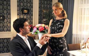 """""""Sturm der Liebe"""" - Staffel 8: Konstantin (Moritz Tittel)und Marlene (Lucy Scherer)"""