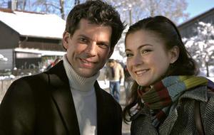 """""""Sturm der Liebe"""" - Staffel 1: Laura (Henriette Richter-Röhl) und Alexander (Gregory B. Waldis)"""