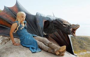 """Game of Thrones"" Daenerys Drachen"