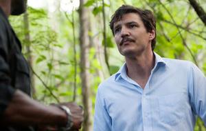 """Pedro Pascal in der 3. Staffel der Netflix-Serie """"Narcos""""."""