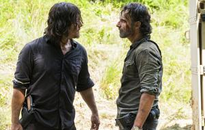 """""""The Walking Dead"""" Rick and Daryl"""