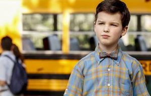 "Iain Armitage als ""Young Sheldon"""