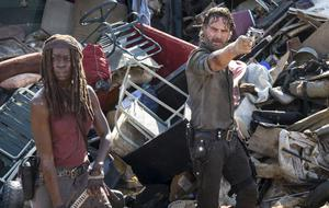 The Walking Dead Rick Michonne