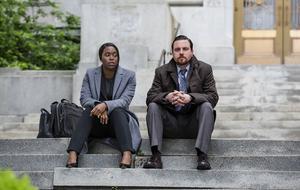 "Clare-Hope Ashitey, Michael Mosley in ""Seven Seconds"""