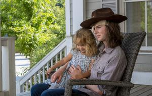 The Walking Dead Carl Season 9