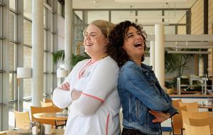 Christina Petersen und Isabel Varell In aller Freundschaft