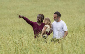 Walking Dead Michonne Rick Judith
