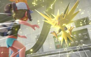 Pokémon Lets Go Zapdos