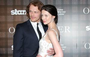 """""""Outlander""""-Stars Sam Heughan and Caitriona Balfe"""