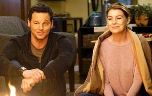 """""""Grey's Anatomy"""": Meredith Grey (Ellen Pompeo) und Alex Karev (Justin Chambers)"""