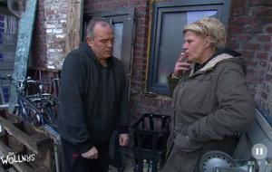 Silvia Wollny möchte sich nicht von ihren Kippen trennen - von Harald Elsenbast natürlich auch nicht