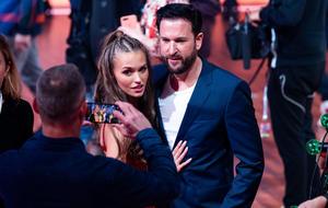"""Laura Müller und Michael Wendler am Freitag bei """"Let's Dance""""."""