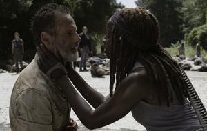 The Walking Dead Rick Michonne