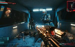 Cyberpunk 2077 Going on Top Gameplay