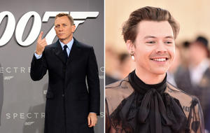 Harry Styles James Bond Daniel Craig