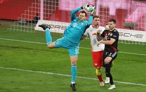 RB Leipzig gegen FC Bayern München: das letzte Zusammentreffen war im April.