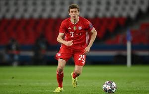 Thomas Müller spielt in der Champions League für den FC Bayern München.