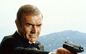 "Sean Connery fast in ""Skyfall"""